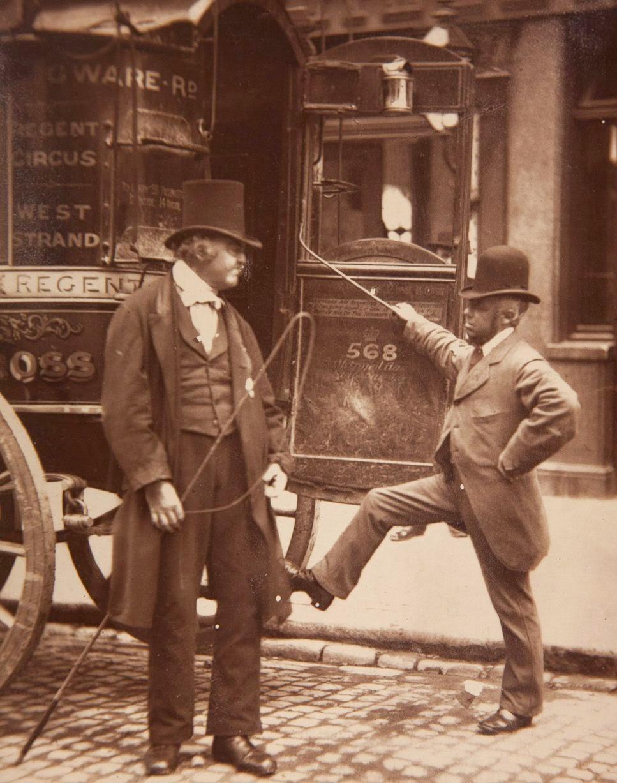1877. Возница омнибуса, известный как «Чугунный Билли»