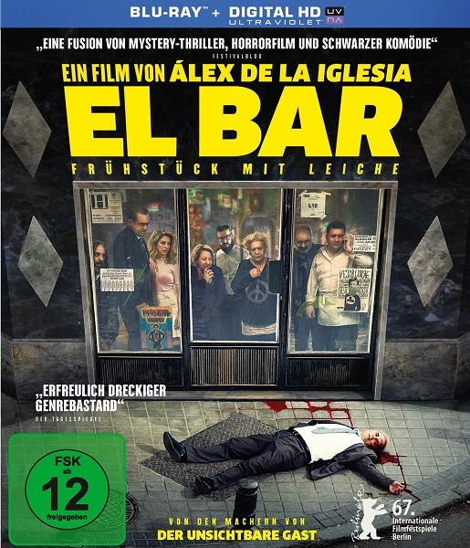 Дикая история / El bar (2016/BDRip/HDRip)