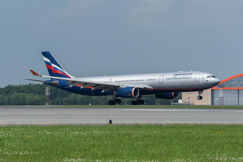 Airbus A330-343 (VQ-BNS) Аэрофлот D702774a