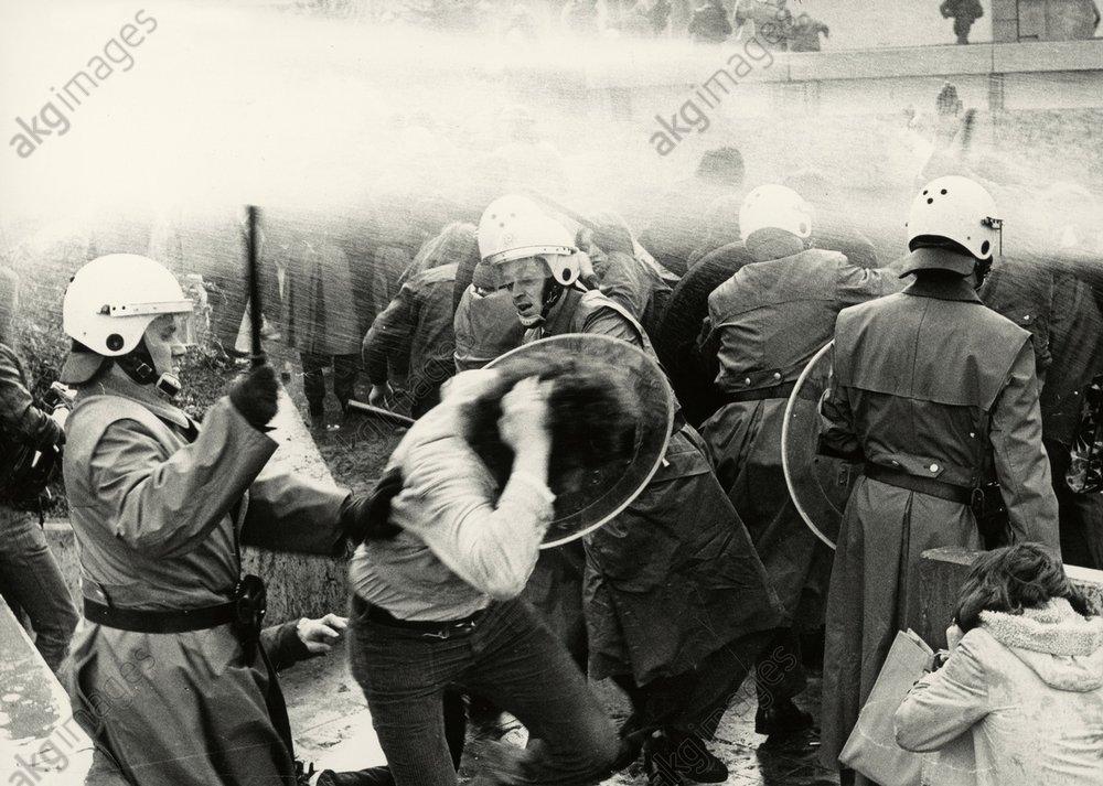 Studentenunruhen/Frankfurt/M./Maerz 1974 -  -