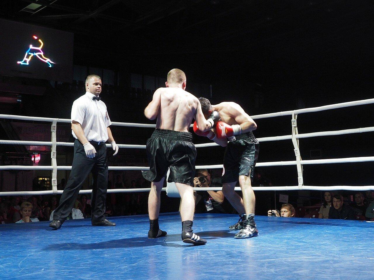 107 Вечер профессионального бокса в Магнитогорске 06.07.2017