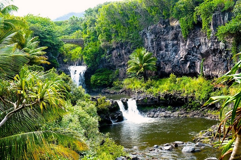 Потрясающие природные бассейны