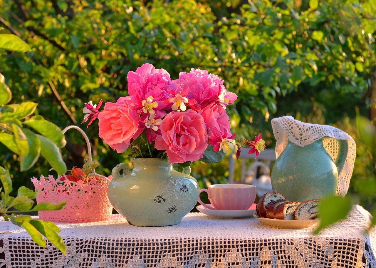 Чай на даче – для души отрада