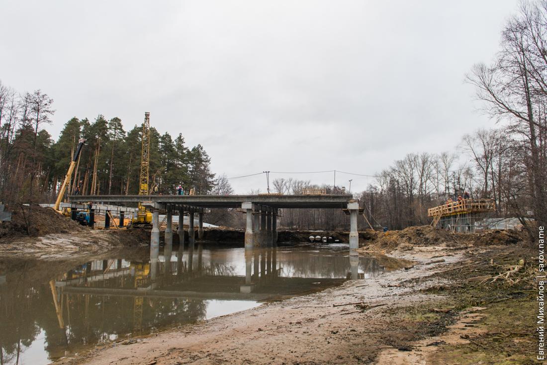 мост через реку Сатис в Сарове