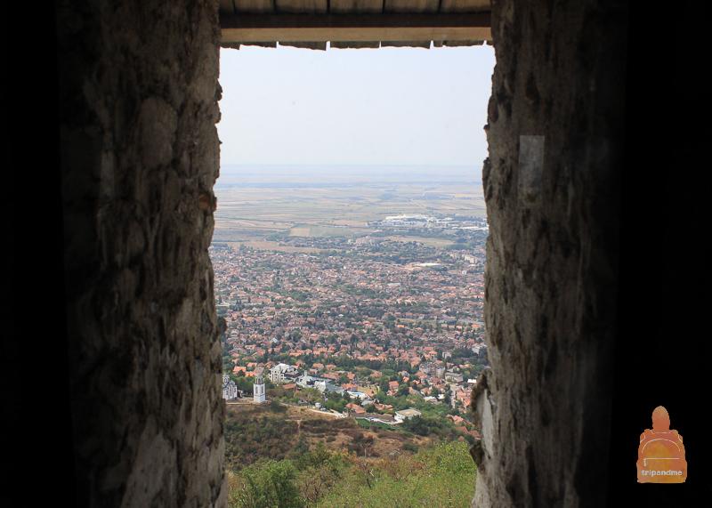 С вершины башни открываются виды на город