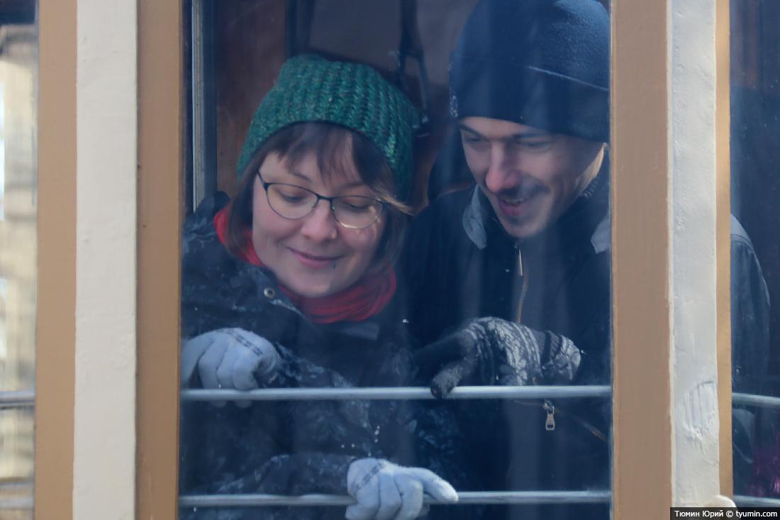 Журналист и путешественник Юрий Тюмин поделился с экологами репортажем о параде трамваев в Москве  - фото 33