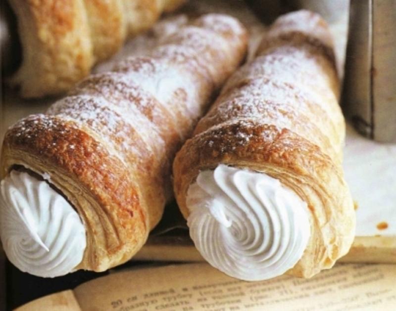 Пирожное «Трубочки со сливочным кремом» Вкусное и очень простое пирожное. Для поколения рожденных в