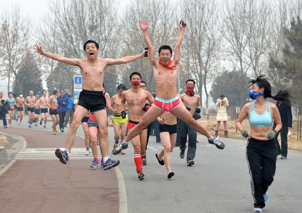 Пекинский пробег в трусах