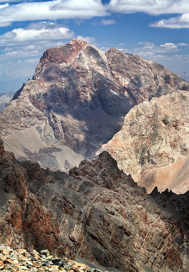 40. Вид с перевала Чимтарга (4700 м).