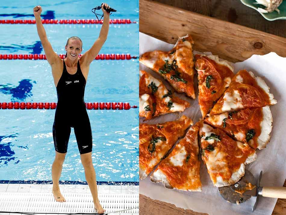 Американская пловчиха Дана Воллмер, 4-кратная олимпийская чемпионка и многократная чемпионка мира, с