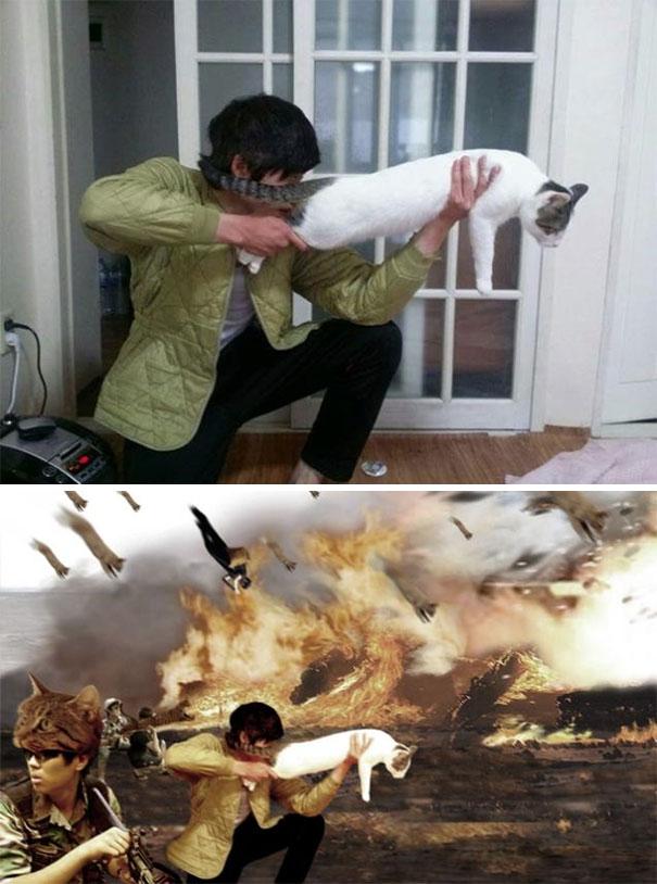 «Можете сделать кошку супероружием?»