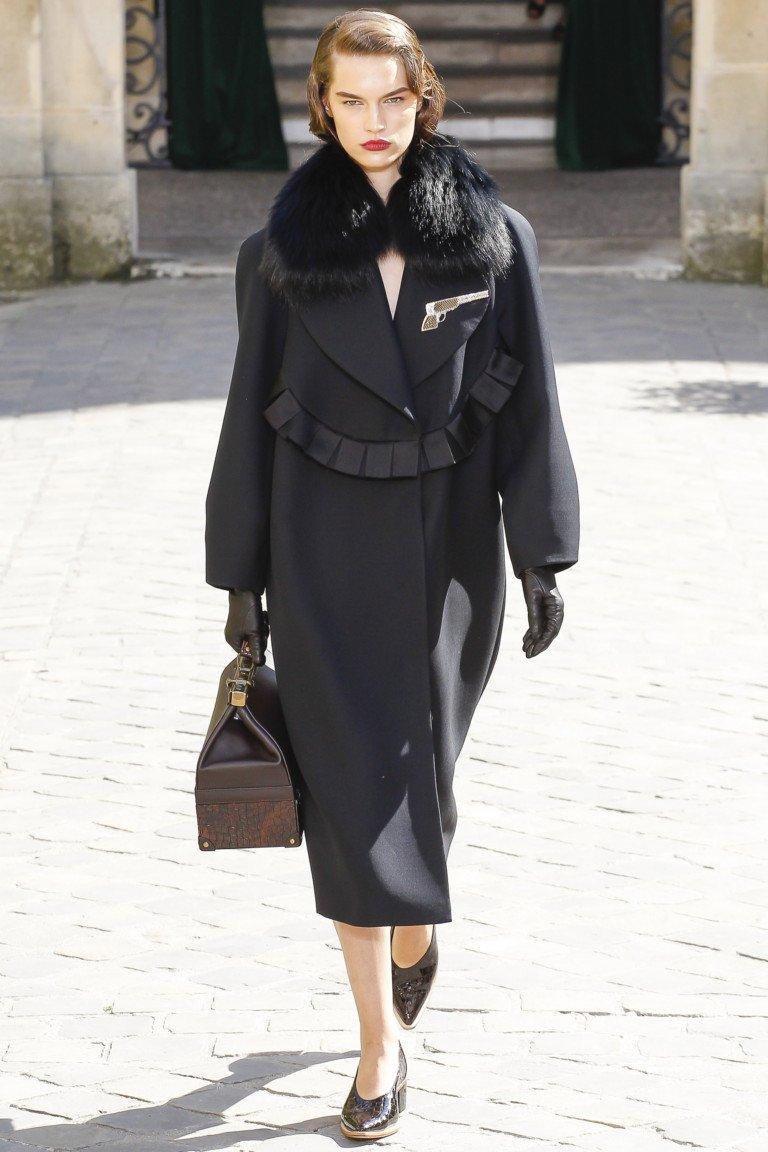 Неделя высокой моды в Париже: Ulyana Sergeenko (17 фото)