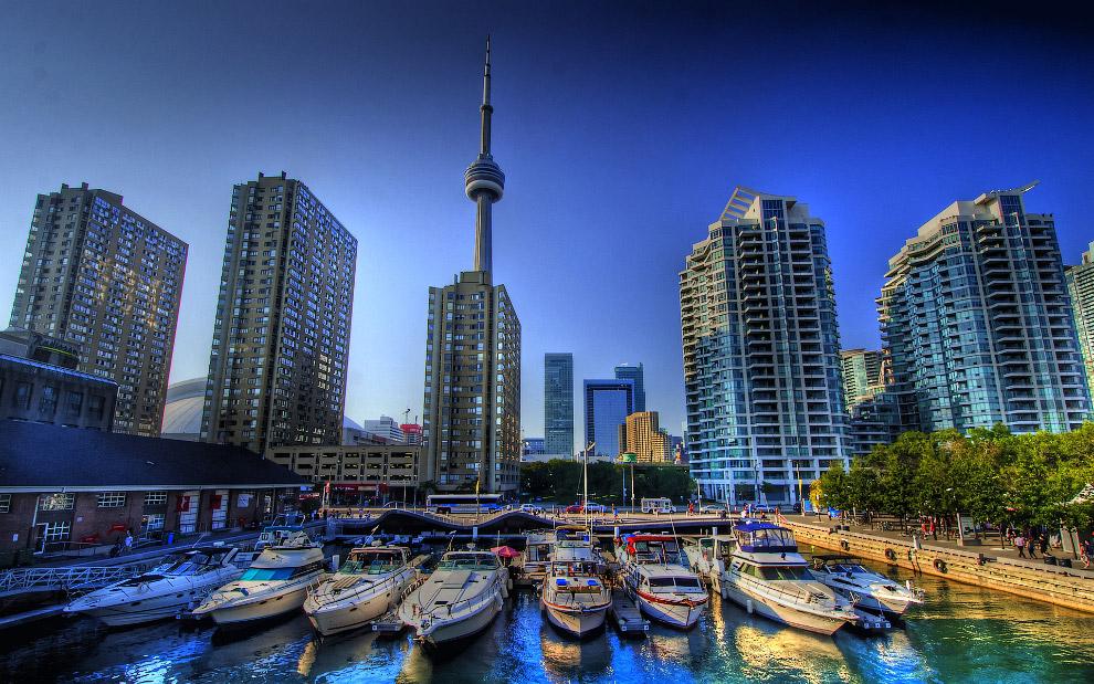 Торонто с высоты: