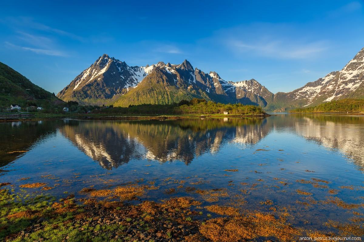 Лофотены — рай для пейзажистов (12 фото)