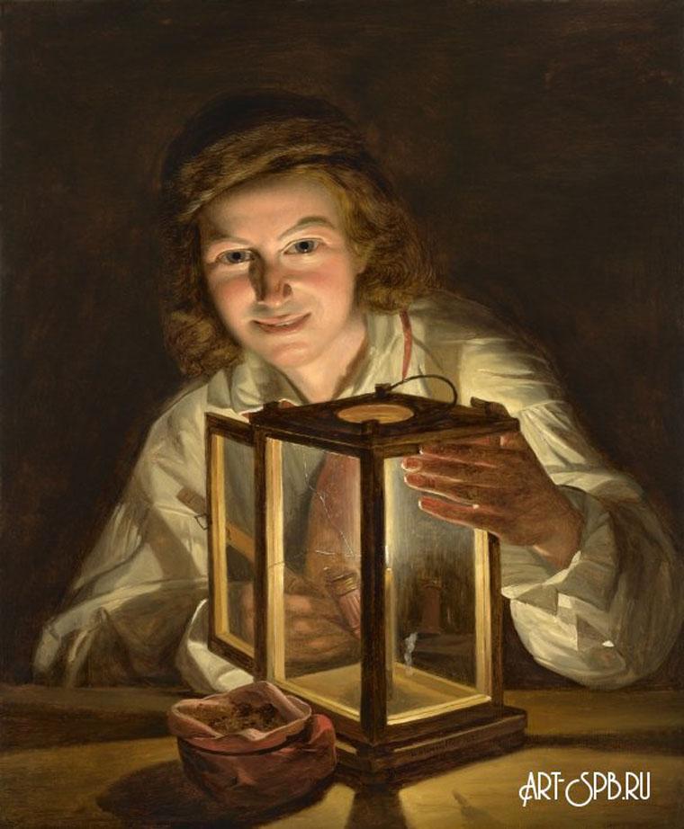 18844.jpgАвтопортрет с фонарем. Фердинанд Георг Вальдмюллер.jpg