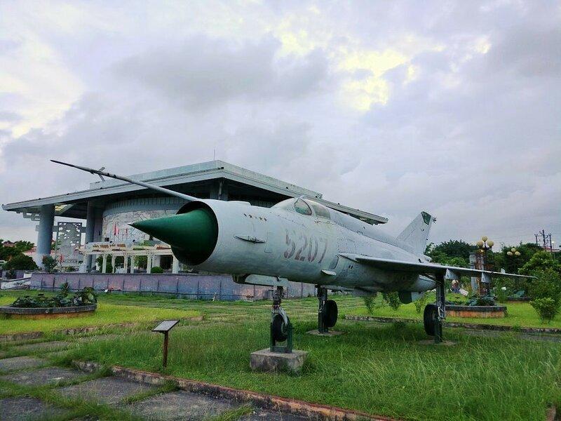 МиГ-21бис во вьетнамском Bac Ninh Museum