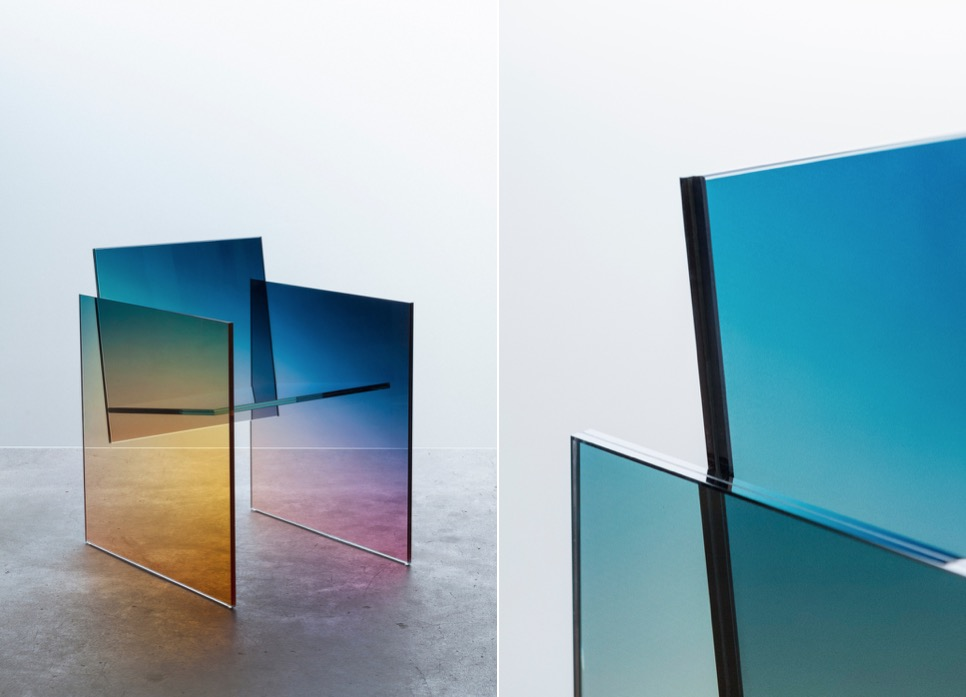 Beautiful Gradient Glass Chair by Germans Ermics (7 pics)