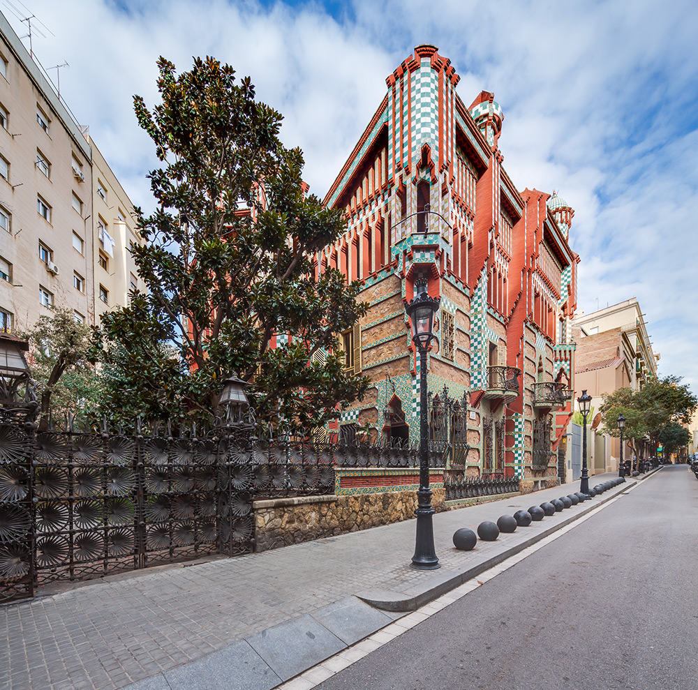 Gaudi's First Built House Opens to the Public for the First Time in its 130-Year-Old History