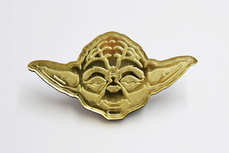 Laser Cut Star Wars Characters Pins (13 pics)