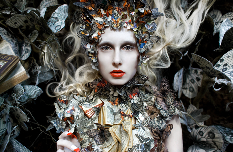 The Ghost Swift © Kirsty Mitchell