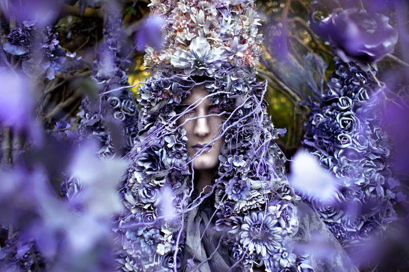 A Floral Birth © Kirsty Mitchell Now five years later the Wonderland project has practically co