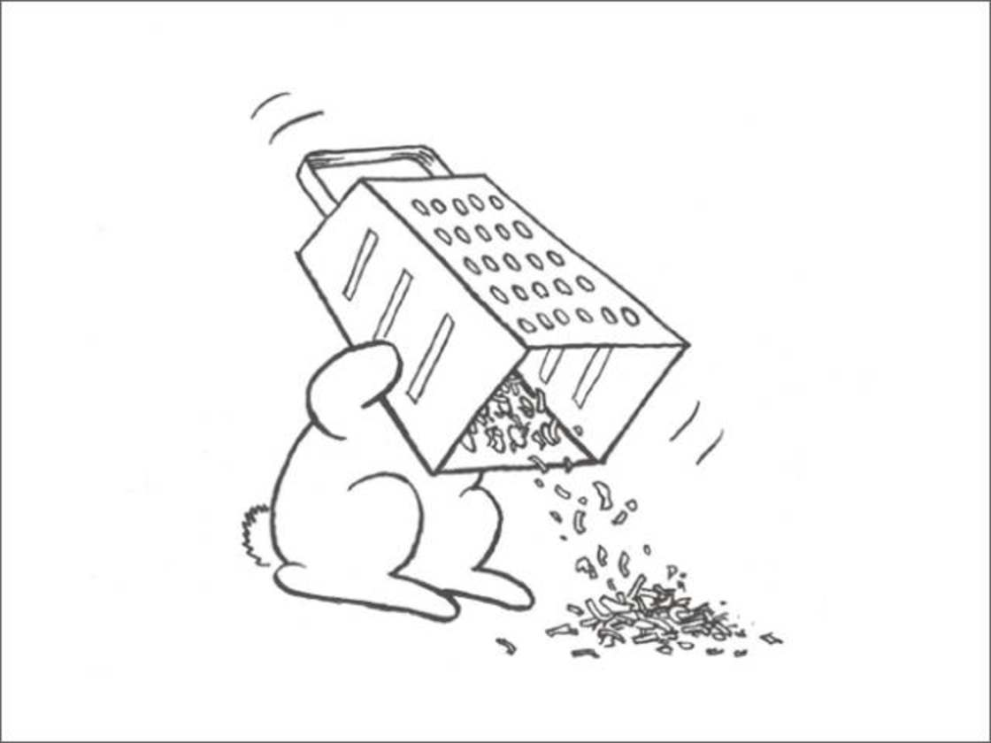 Bunny Suicides - The adorable suicidal rabbits of Andy Riley