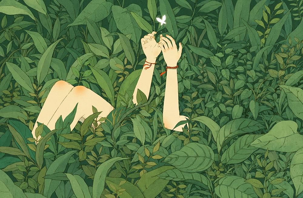 Beautiful Illustrations by Jin Xingye