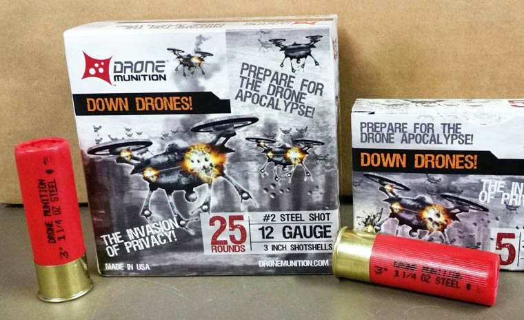 Down Drones – Shotgun shells specifically designed to shoot down drones (4 pics)
