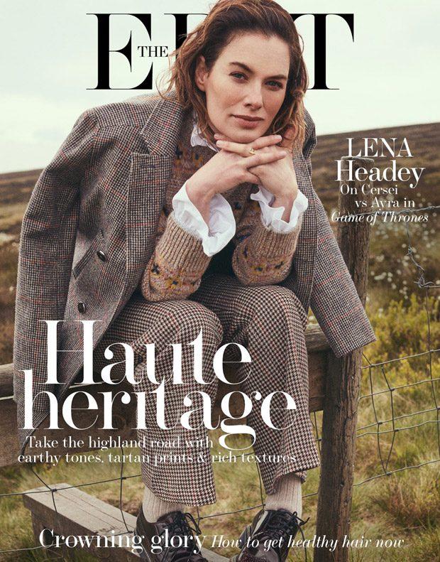 Last Woman Standing: Lena Headey Stars in The Edit Magazine (12 pics)