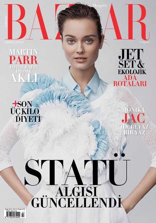 Jac Jagaciak Stuns for Harper's Bazaar Turkey July 2017 Cover Story (22 pics)