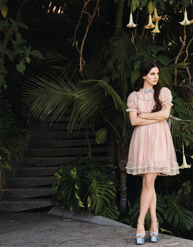 Lana Del Rey Stars in the French Grazia Magazine Cover Story
