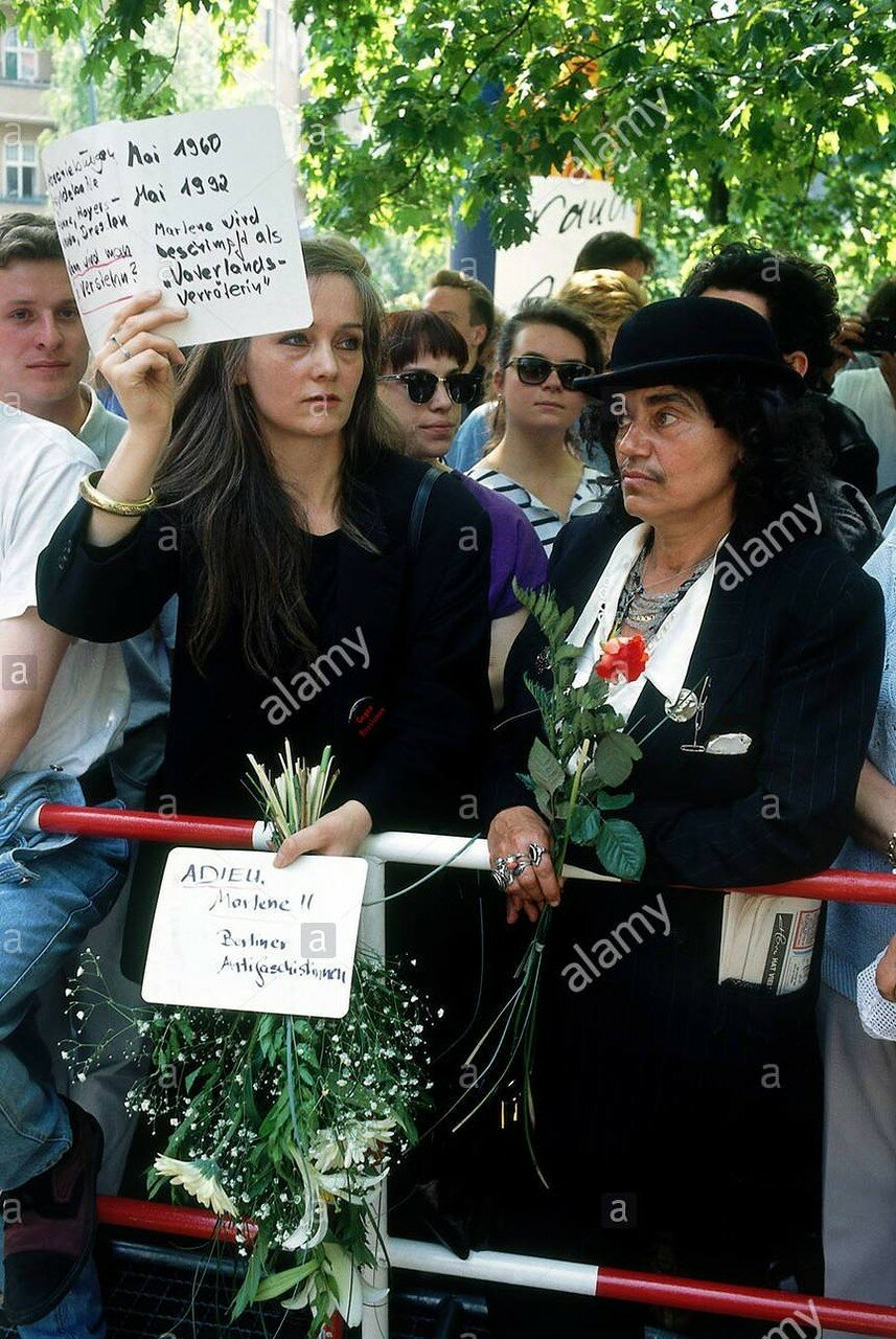 Похороны Дитрих