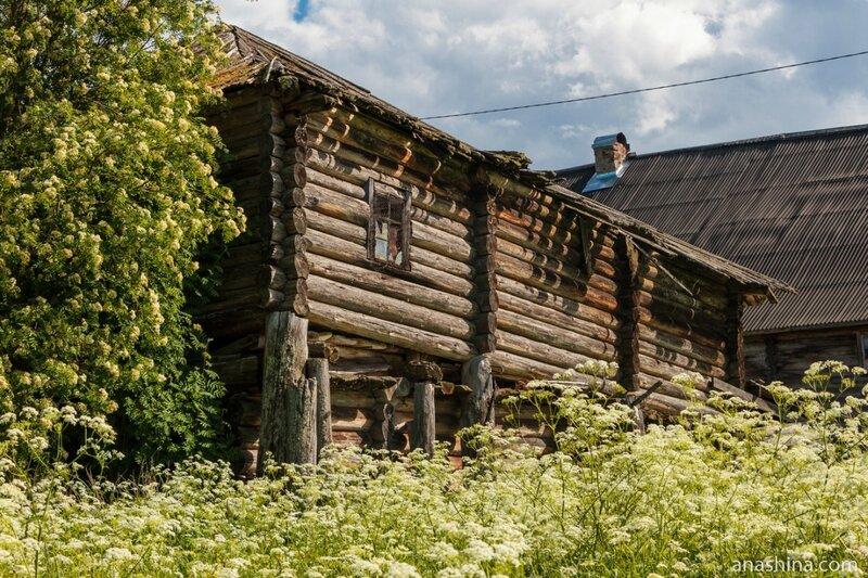 Старый дом, Пяльма, Карелия