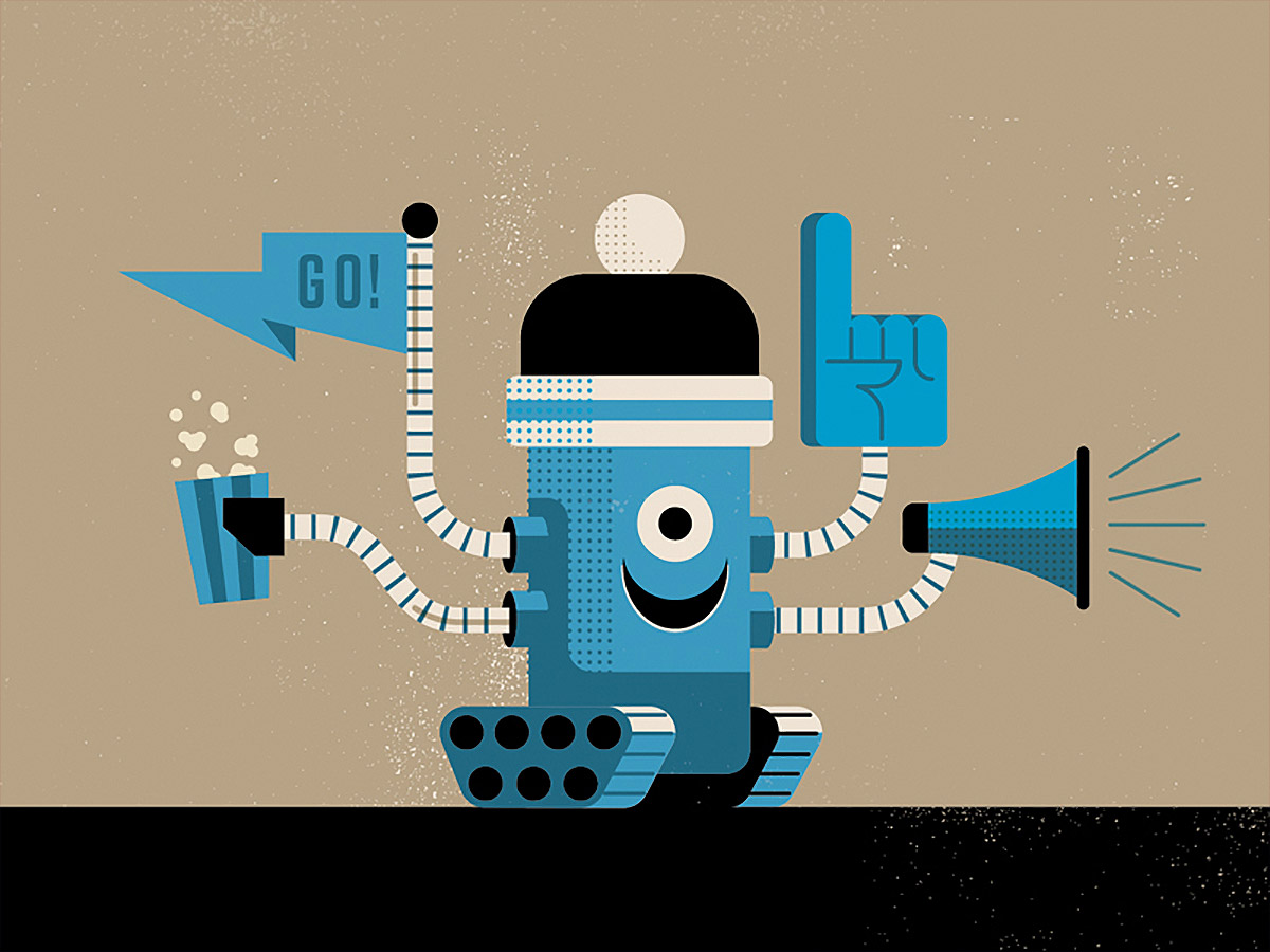 Cool Illustrations by Matt Stevens