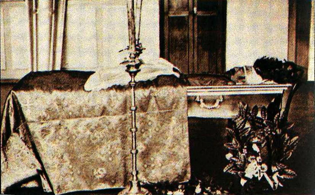 Гроб с телом генерала С.Л. Маркова