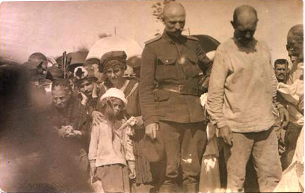 Церемония прощания с генералом С.Л. Марковым 15 (28) июня 1918 года