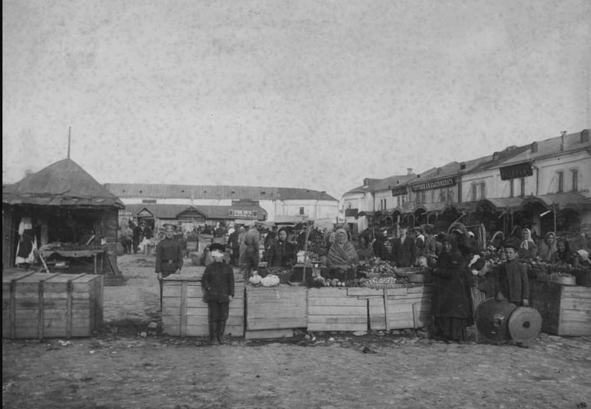 Новый базар в Рязани