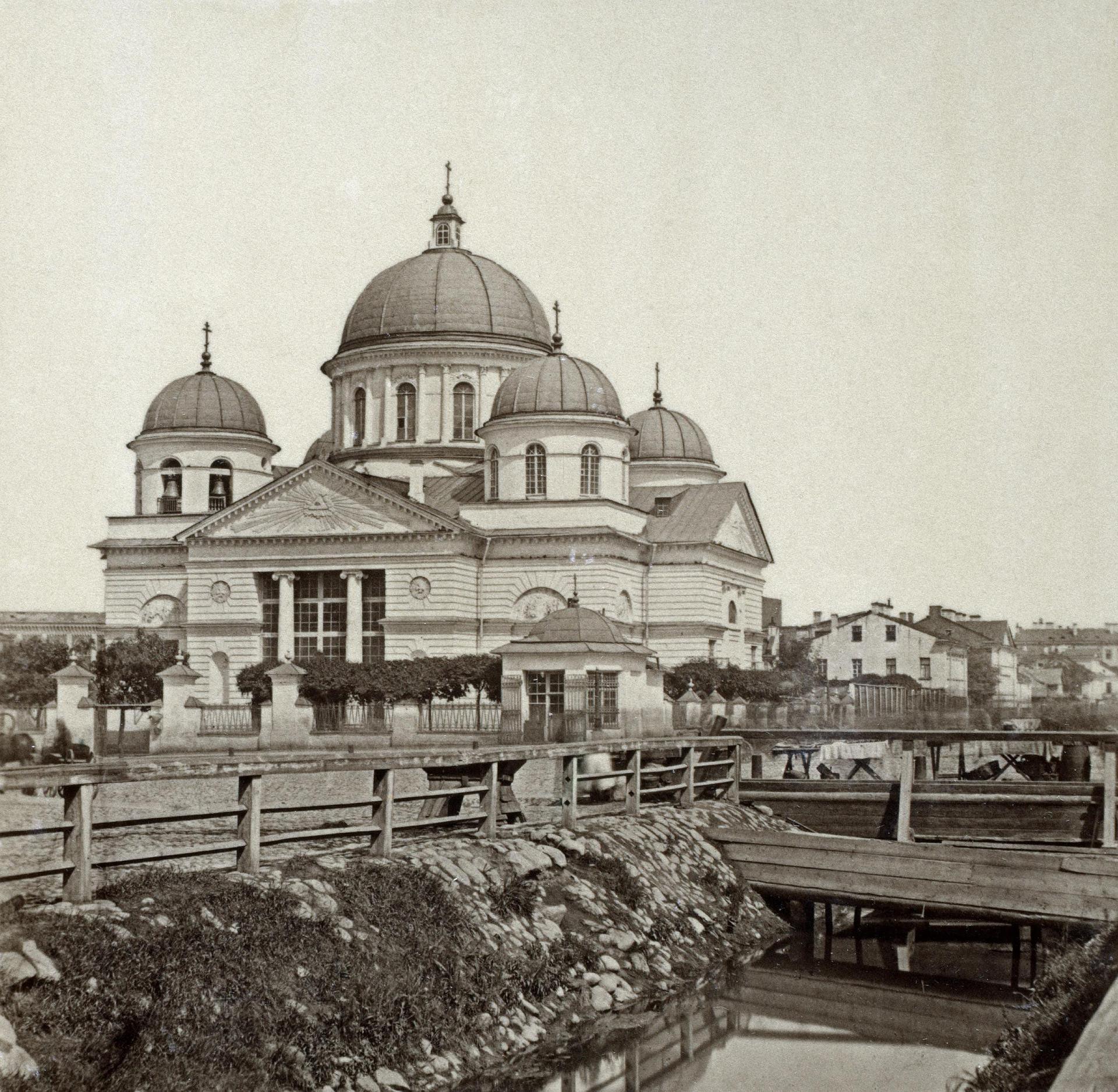1858. Лиговский канал у Знаменской церкви