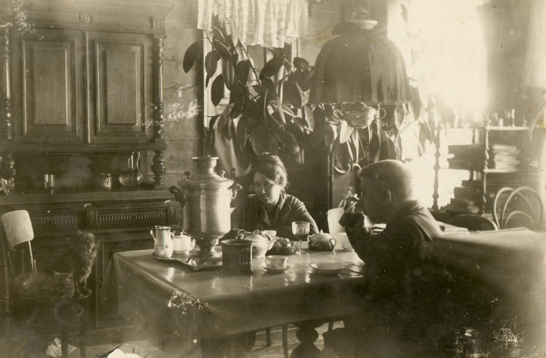 В доме И.Г. Букина