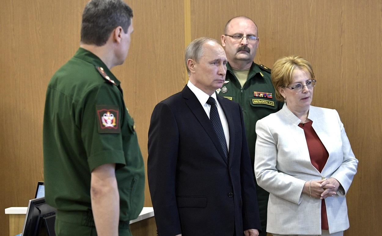 Посещение клиники Военно-медицинской академии имени С.М.Кирова, 30 июля 2017 г., Санкт-Петербург(9)