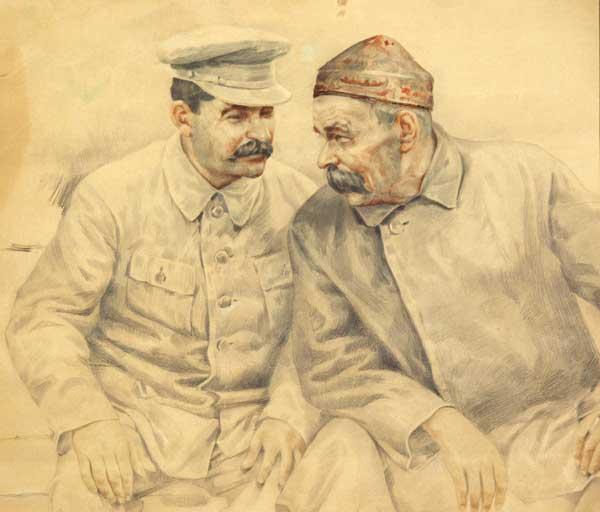 Великая страна СССР, Сталин и Горький, Первый съезд писателей