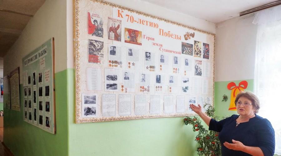В Глазовской школе Сухиничского района завершается капремонт спортивного зала