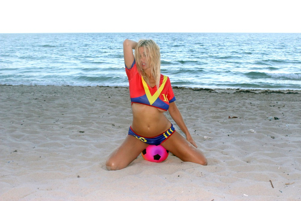 Нади Волянова отметила победу ФК «Барселона»