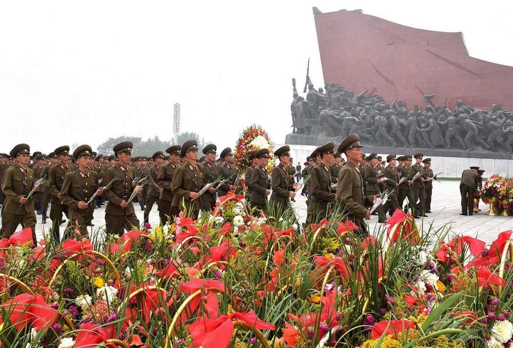 69-я годовщина основания Северной Кореи