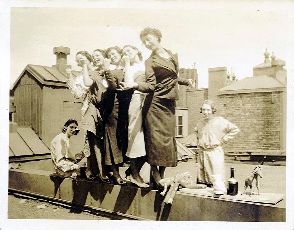 Забавные фото на крыше