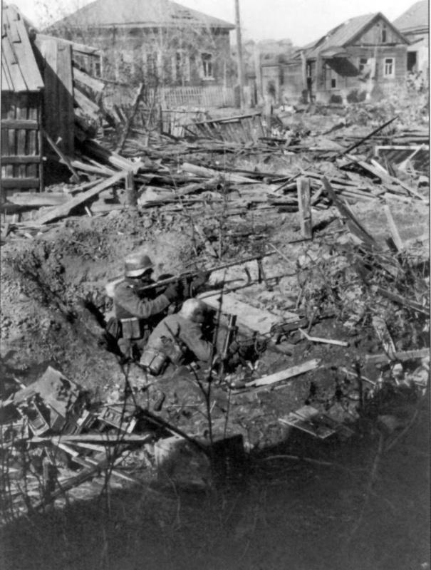 Сталинградская битва: оборона Сталинграда
