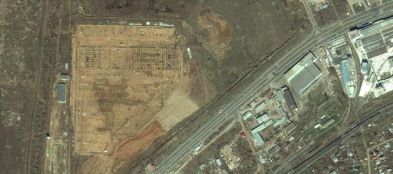 Самара 2017 на спутниковых снимках