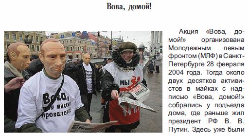 Защита общественных интересов: истории успеха российских НКО. Вова, домой!
