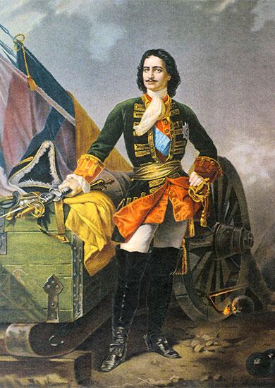 Царь Пётр Алексеевич, создатель российской гвардии