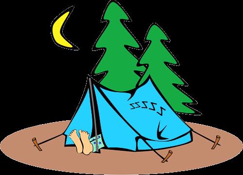 Всемирный день туризма. Сон в палатке открытки фото рисунки картинки поздравления